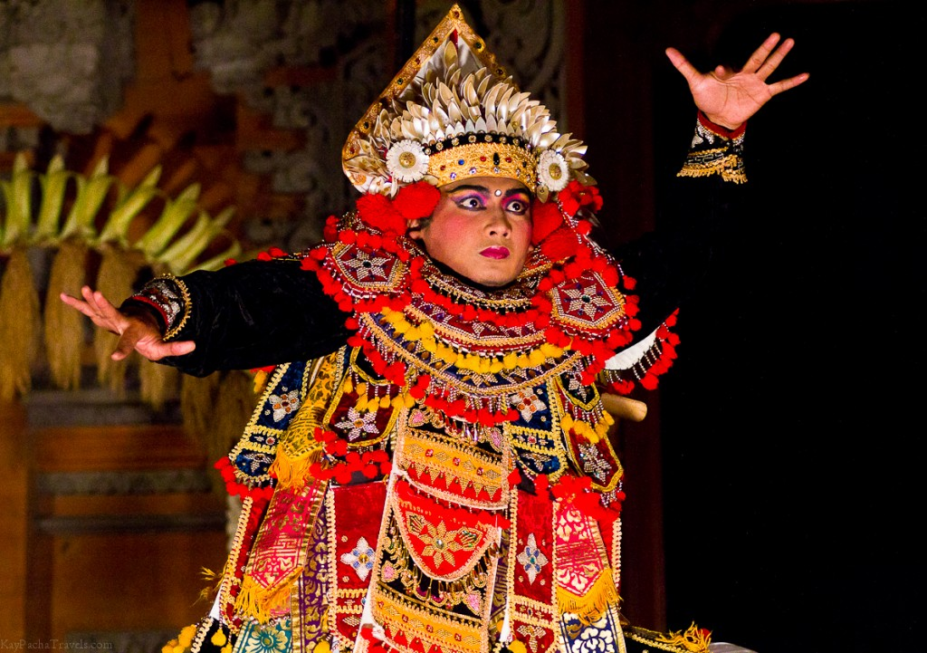 A Balinese dance in Ubud