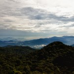 View from the lookout at Gunung Brinchang