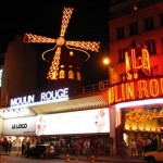 Its all about the can can…..showtime at the Moulin Rouge
