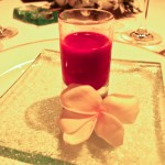 A sweet beet juice combination drink