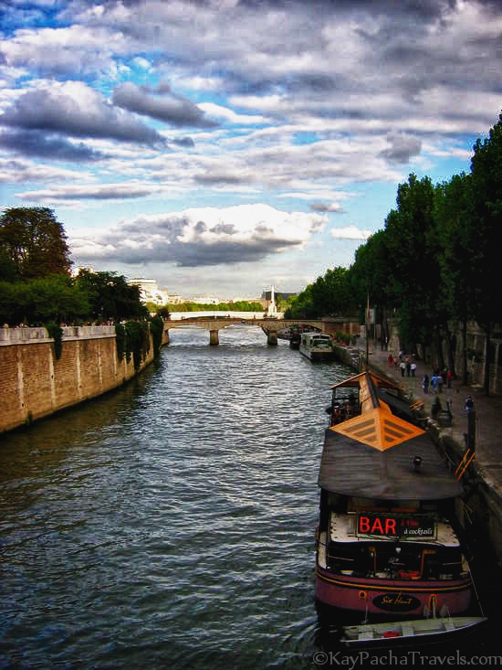 Friday Snapshot: The Seine River, Paris