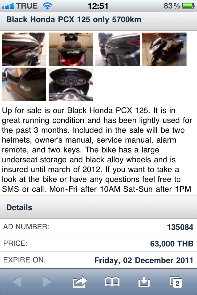 Selling Your Motorbike in Thailand (Chiang Mai Edition)
