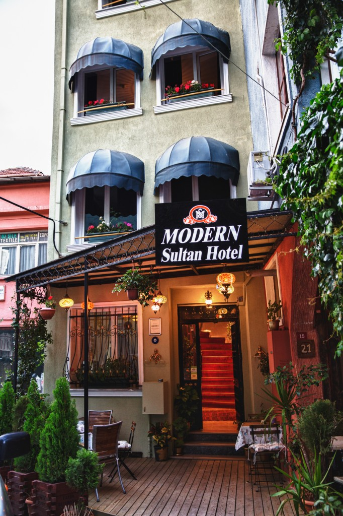 200 Year Old building turned contemporary hotel in Istanbul's historic center- our hotel favorite is the Modern Sultan