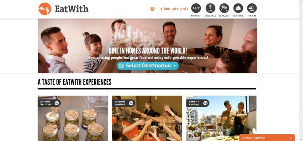 Introducing EatWith- like Airbnb but for food!