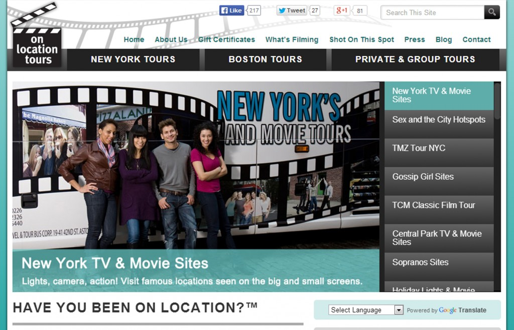Giveaway: Win 2 tickets to either TCM Classic Film Tour or TMZ Tour NYC!