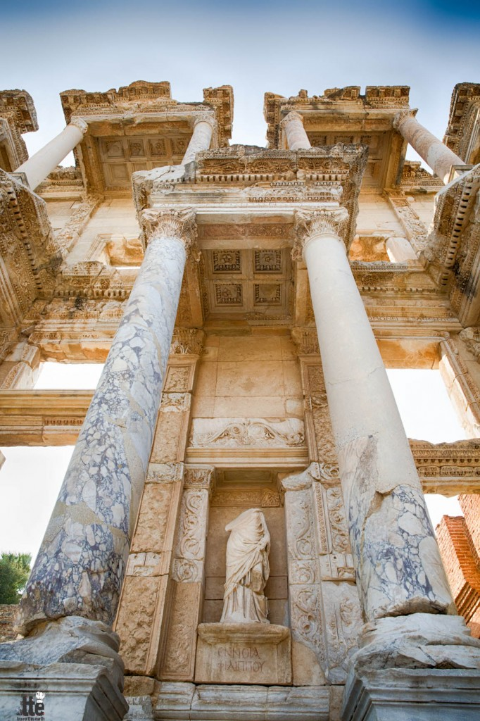 Friday Snapshot: The Library at Ephesus