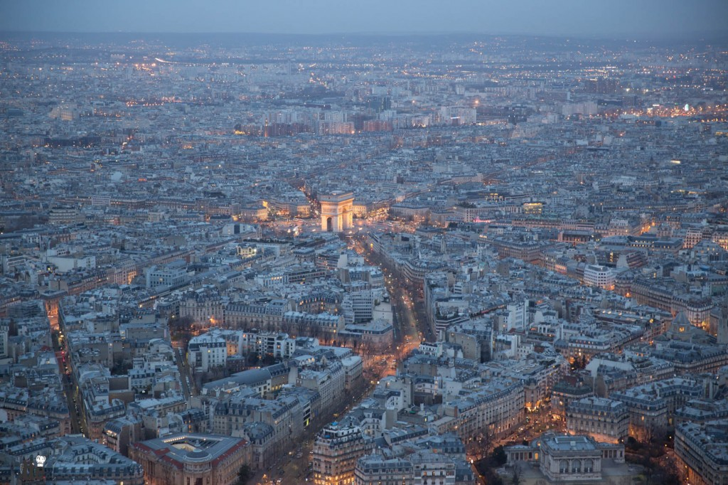 Friday Snapshot: Looking below at Paris