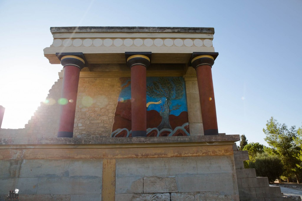 The Palace of Knossos- ancient capital of Minoan Crete