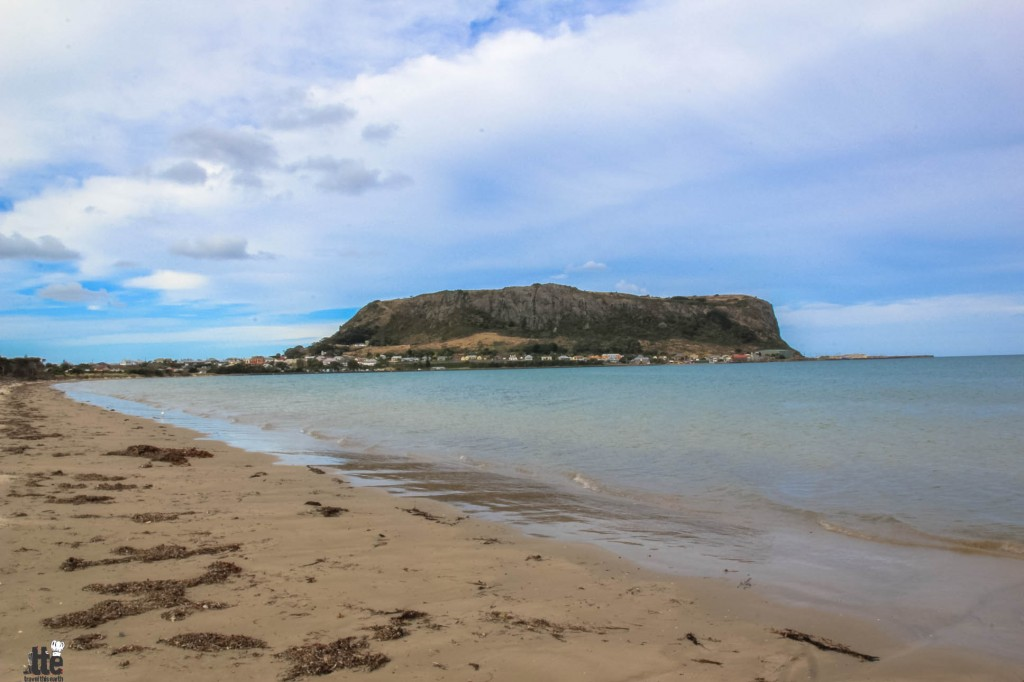 Camping In The Shadow Of A Volcanic Plug The Nut At Stanley
